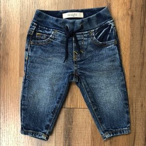 Gymboree Baby Boy's Straight Leg Pull On Jeans NWT